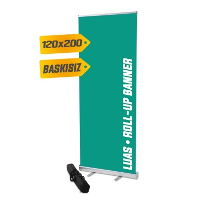 Roll Up Banner 120X200 cm %8
