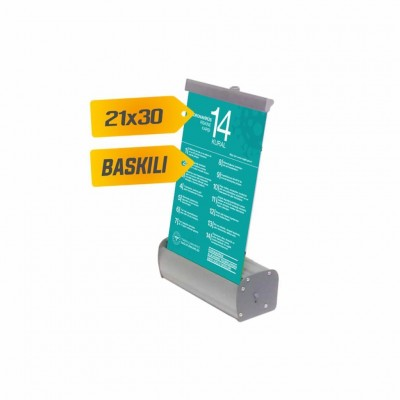 Roll Up Banner 21x30 cm %8