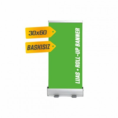 Roll Up Banner 30x60 cm