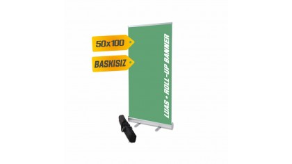Roll Up Banner  50x100 cm %8