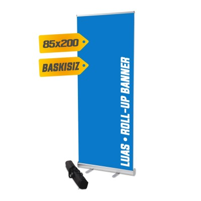 Banner - Roll Up Banner 80x200 cm